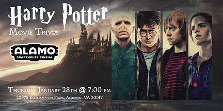 Harry Potter Movies Trivia at Alamo Drafthouse Loudoun tickets