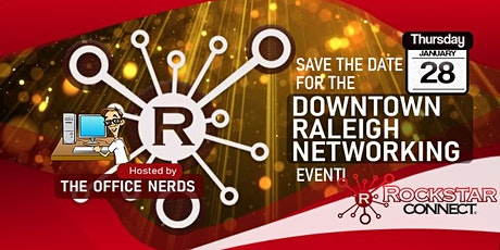 Free Downtown Raleigh Rockstar Connect Networking Event (January, NC) tickets