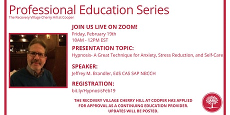 Professional Education Series: Hypnosis- A Great Technique for Anxiety tickets
