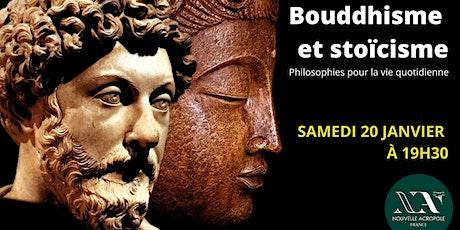 Bouddhisme et Stoïcisme: philosophies pour la vie quotidienne billets