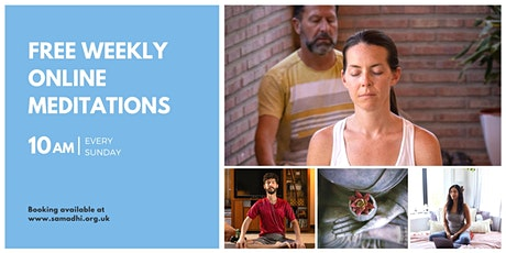 Free Weekly Online Guided Meditation tickets