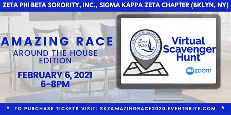 Amazing Race Scavenger Hunt: Race Around the House! tickets