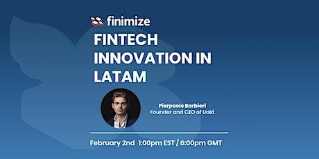 Future of Fintech in LATAM tickets