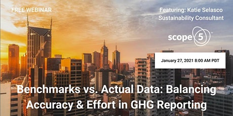 Benchmarks vs. Actual Data: Balancing Accuracy & Effort in GHG Reporting tickets