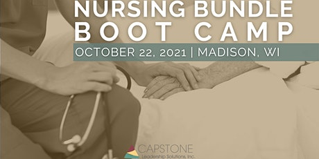 2021 Nursing Bundle Boot Camp - Madison, WI tickets