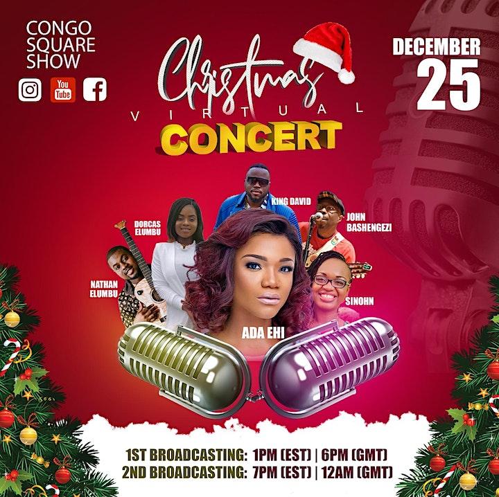 Congo Square Show  Christmas Virtual Concert image