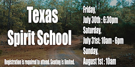 Texas Spirit School tickets