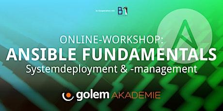 Ansible Fundamentals: Systemdeployment & -management Tickets