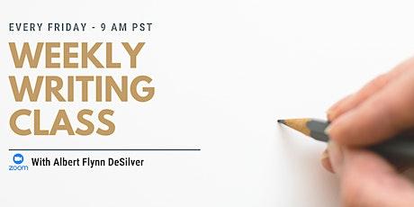 Weekly Creative Writing Class-Virtual tickets