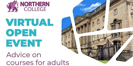 Northern College Virtual Open Event tickets