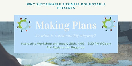 """Making Plans - """"So What is Sustainability Anyway?"""" tickets"""