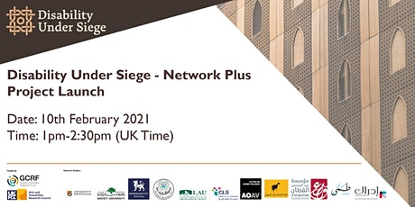 Disability Under Siege Project Launch tickets