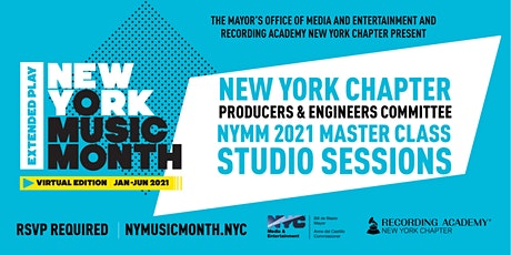 NYMMEP 2021: Remote Recording for the Modern Creative tickets