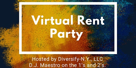 Virtual Rent Party  tickets