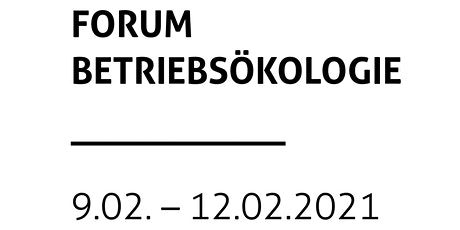 Forum Betriebsökologie Tickets