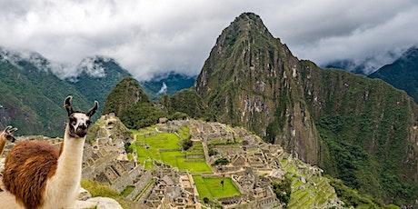 Por los caminos del Inca. La Aventura hacia el Machu Picchu. entradas