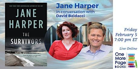 Jane Harper in conversation with David Baldacci tickets