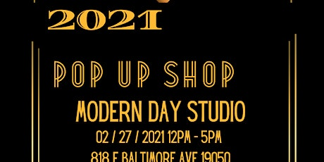 2021 Pop Up Shop & Networking Party tickets
