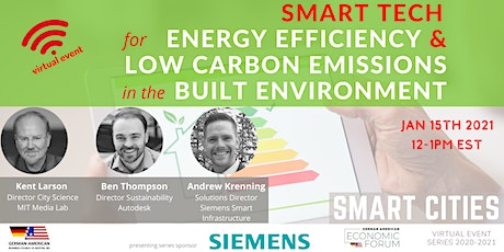 Smart Tech for Energy Efficiency in the Built Environment tickets