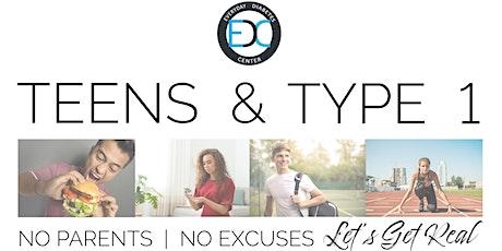 Teens & Type 1 tickets