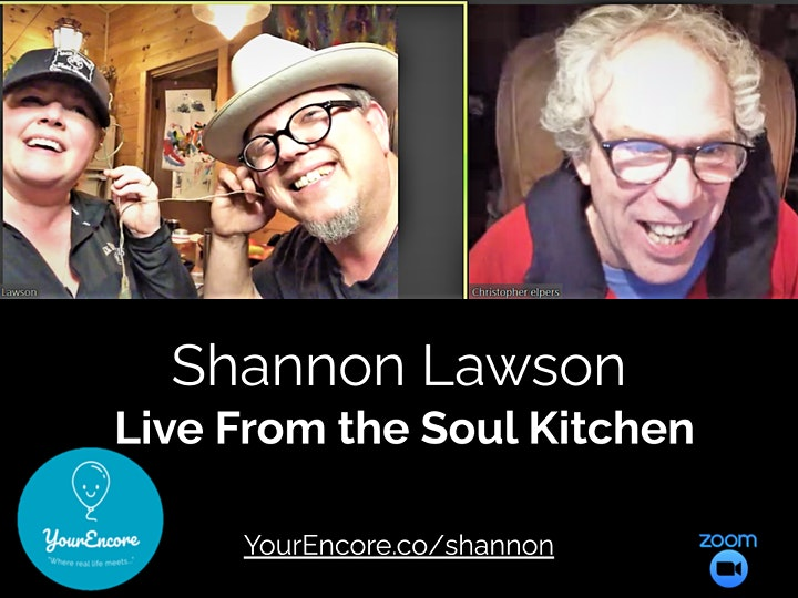 """Shannon Lawson: Live from the Soul Kitchen """"A Night of Music and Me"""" image"""