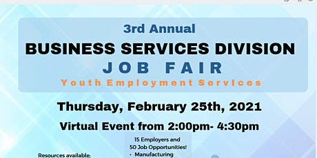 3rd Annual Business Services Division Job Fair tickets