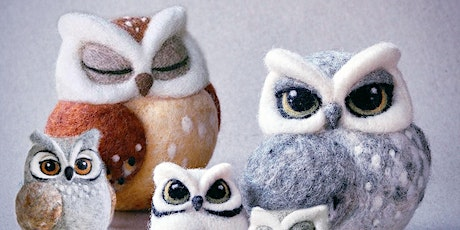 NEEDLE FELTED OWLS tickets