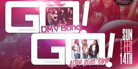 Love & DC Go Go featuring DMV Band & Alter Egos Band tickets