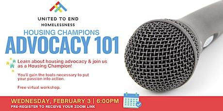 Housing Champions Advocacy 101 Online Workshop (Orange County) tickets