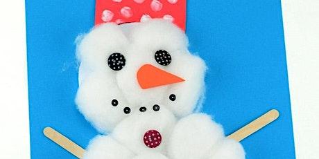 Snowman Craft - Edad recomendada de 4 a 8 años bilhetes