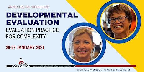 ANZEA online workshop: Developmental evaluation tickets