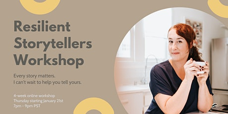 Resilient Storytellers Workshop tickets
