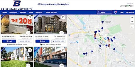 Boise State Off-Campus Virtual Housing Fair tickets