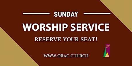 Sunday Worship Service - January 31st tickets