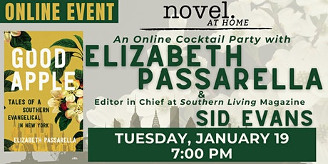 NOVEL AT HOME: GOOD APPLE LAUNCH PARTY WITH ELIZABETH PASSARELLA tickets
