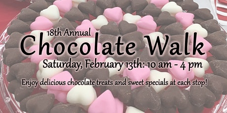 18th Annual Chocolate Walk tickets
