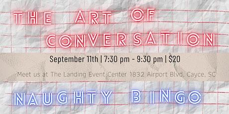 The Art of Conversation: Naughty Bingo tickets