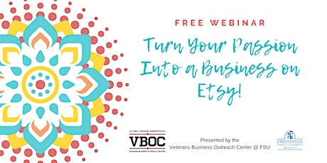 Turn Your Passion Into A Business on Etsy! Tickets