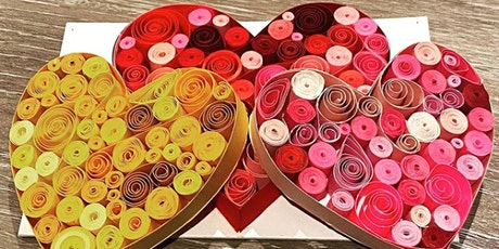 The Art of Quilling: Make A Heart tickets