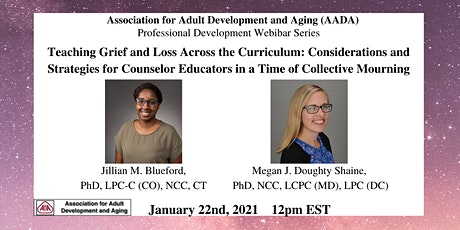 Teaching Grief & Loss : Strategies for Counselor Educators tickets