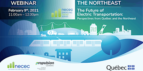 The Future of Electric Transportation: Québec & the Northeast US tickets