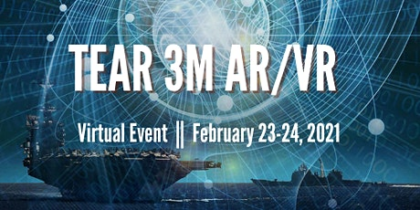 NDIA SD TEAR 3M AR/VR 2021 CONFERENCE(Virtual)-SPONSORSHIP PACKAGE tickets