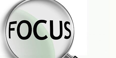 Reflect, Renew & Refocus - Stage 3:  REFOCUS (2  w tickets