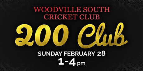 Woodville South Cricket Club - 200 Club tickets