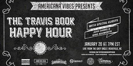 LIVE STREAM:  The Travis Book Happy Hour ft Josh Daniel + Mike Ashworth tickets