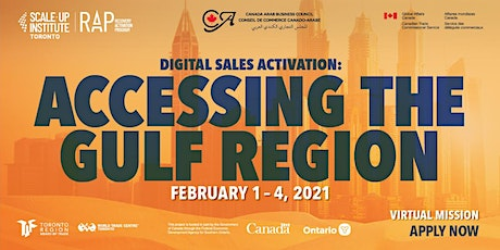 Digital Sales Activation - Accessing the Gulf Region tickets