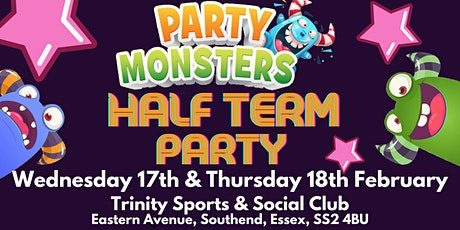 Party Monsters Half Term Party tickets