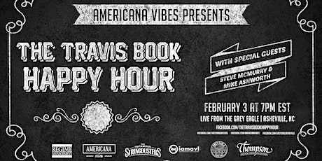 LIVE STREAM:  The Travis Book Happy Hour ft Steve McMurry + Mike Ashworth tickets