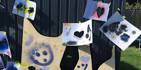 Stencil & Spray Workshop For Kids (ages 5-12) tickets