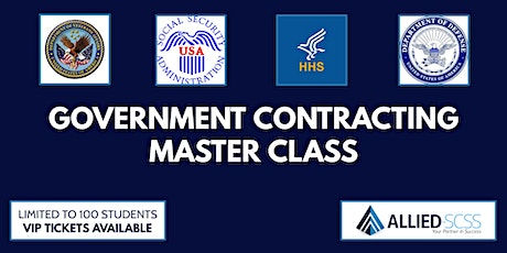 Follow the Blueprint: Government Contracting Master Class tickets